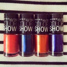 Playing with our limited edition Spring 2013 Color Show Collection. Which shade do you want to try first?