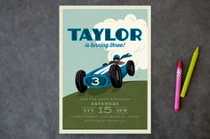Start Your Engines by Karidy Walker at minted.com