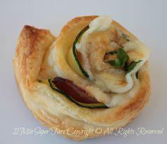 Girelle di zucchine formaggio con pasta sfoglia blog il mio saper fare