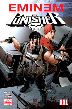 FIRST LOOK: Eminem and Punisher team up