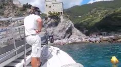 Public Ferry From Vernazza to Monterosso Al Mare in Cinque Terre, Italy. The public ferry is the best and most scenic way to travel in Cinque Terre, Italy. Ways To Travel, Us Travel, Italy Travel, Family Travel, Visit Italy, Travel Videos, Cinque Terre, Travel Destinations, Travel Photography