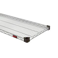 "Eagle QA1836V 36"" x 18"" Valu-Master Quad-Adjust Adjustable Wire Shelf by Eagle. $48.00. Wire shelves allow for air circulation and are incredibly durable to withstand tough, foodservice environments. The 36"" x 18"" Valu-Master Quad-Adjust Adjustable Wire Shelf (QA1836V) from Eagle is up to 25% stronger than standard shelves due to the Quad-Truss® design which also provides a retaining ledge for greater product stability. Shelf can easily be adjusted, removed or added witho..."