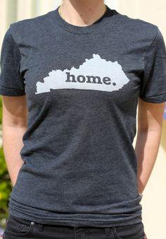 The #Kentucky Home T, $25.00 (http://www.thehomet.com/kentucky-home-t-shirt)