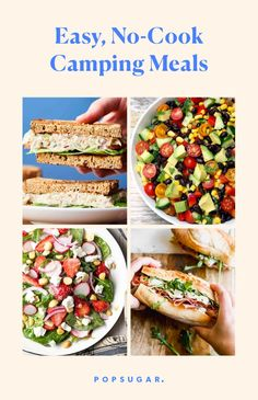 Easy No-Cook Camping Meals For Your Next Trip