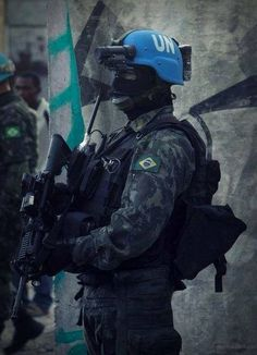 so Brazilian Army Soldier (UN Peacekeeper)