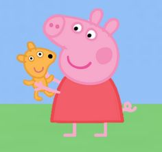 Peppa Pig Funny, Peppa Pig Memes, Peppa Pig Teddy, Pig Images, Creepy Images, Peppa Pig Wallpaper, Cartoon Wallpaper, Peppa Pig Stickers, Peppa Big