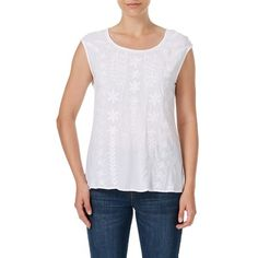 Rockmans Embroidered Top