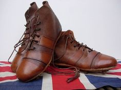 ANTIQUE FOOTBALL BOOTS