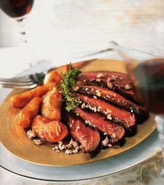 What do French people prefer to eat? Le Magret de Canard!