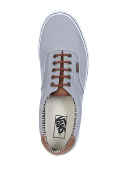 ⇒ Vans Baskets Vans Era 59 Gris Clair Homme Chaussures | Livraison et Retours Gratuits