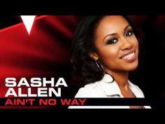 Sasha Allen - Ain't No Way - Studio Version - Top 6 - The Voice 2013
