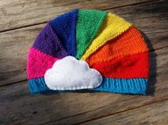 Rainbow Hat Spring Easter  £16.50
