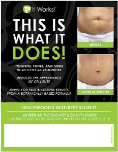 Can you QuickWrap your mind around this?   Toni Alexander  @QuickWraps    ItWorks!™ Independent Distributor • Wife • Mother • Mentor • Singer • Health & Fitness Enthusiast • Awesome Cook    Atlanta, GA · QuickWraps.biz