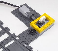 Universal turnout drive for new turnouts with PF or motor :: LEGO at .