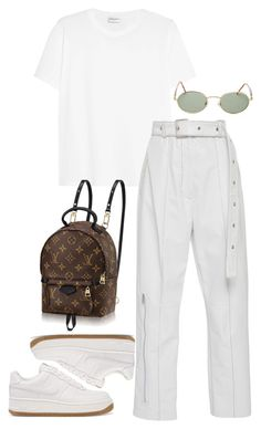 """Untitled #273"" by kryskandidly ❤ liked on Polyvore featuring NIKE, Yves Saint Laurent and Forever 21"