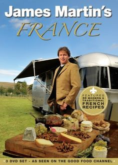 Top Cookbooks, Amazon Dvd, Good Food Channel, James Martin, Dvd Set, Dvd Blu Ray, Book Collection, Eagle, France