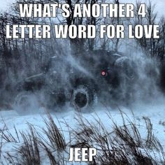 I never knew how much my husband loved me when he traded his jeep in for a truck to pull my horses. Until I bought my own Jeep. I've never felt so loved! Jeep Meme, Jeep Humor, Jeep Funny, Car Humor, Jeep Xj, Jeep Truck, Jeep Wranglers, Jeep Wrangler Unlimited, Wrangler Jk