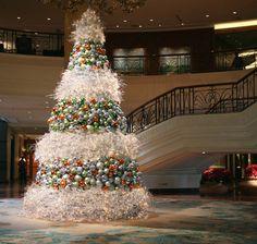 Waiting for Santa at the Mall