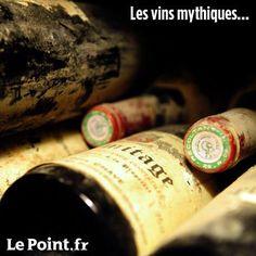 Romanée-Conti, Haut-Brion, Latour..Legendry French wines.