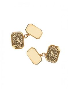 9ct Gold Chain Cufflinks - Available at Onyx Goldsmiths