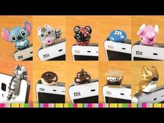 Kawaii Cell Phone dust plugs 10 in 1 polymer clay tutorials