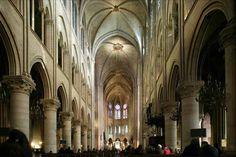 Notre Dame Interior - Paris, France