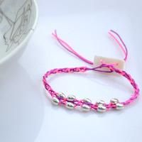 Pink and purple handcrafted beaded jewelry - free crochet bracelet pattern with beads