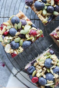 Gluten and Dairy Free Blueberry Oat Breakfast Bars – SIMPLY BEAUTIFUL EATING