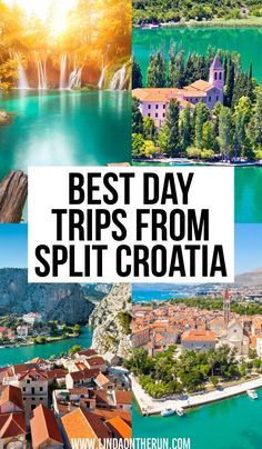 Are you looking for day trips from Split? Here you will find tips on the best day trips from Split so you make the most of your time while in Split Croatia. Croatia Itinerary, Croatia Travel Guide, Europe Travel Guide, Backpacking Europe, Cool Places To Visit, Places To Travel, Travel Destinations, Holiday Destinations, European Destination