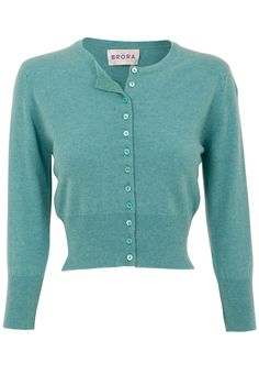 Brora cashmere cropped cardigans in oodles of yummy colors... These are the cardis that Nigella Lawson wears.