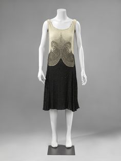 ab. 1927-1928 Evening or dance dress by anonymous (Rijksmuseum)