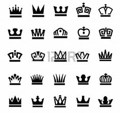 Tattoo On Pinterest Crown Tattoos Design And Small