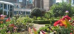 The Fairmont Waterfront Herb Garden  Located on the 3rd floor of the hotel rests a 2100 square foot herb garden. Introduced in 1991, it became one of Vancouver's first green roofs.