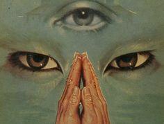 "antipahtico: "" The Third Eye ~ Lobsang Rompa 1968 "" Plakat Design, Arte Obscura, Photocollage, Retro Futurism, Grafik Design, Psychedelic Art, Pics Art, Art Plastique, Aesthetic Art"