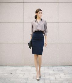 Smart Casual Work Outfit, Classy Work Outfits, Office Outfits, Casual Outfits, Office Fashion, Work Fashion, Work Dresses For Women, Clothes For Women, Corporate Attire