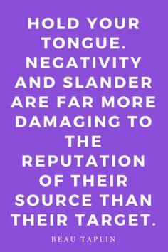 Mantras Inspiration Motivation Quotes Slander Negativity