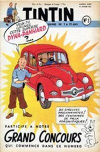 Le grand concours Tintin