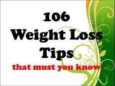 Tips to lose weight quickly : 1.	Drink 8 glasses of water or about 2 liters a day. 2.	Avoid drinking cold water or ice. 3.	Avoid eating after dinner or before bed at 20:00 4.	Stop like to eat snacks 5.	Follow the weight loss program