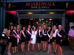 Looking for somewhere to celebrate your hen or stag? Why not book a table or a private function room here at The Boardwalk! Call (021) 427 9990 for bookings.