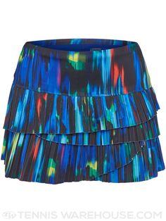 bf175c479c9e Lucky in Love Women s Technicolor Pleat Scallop Skirt