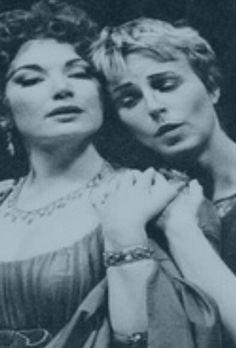 Vitellia and Sesto, La Clemenza di Tito. Carol Vaness and Anne Sofie von Otter