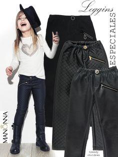 trendy children blog de moda infantil: MANONNA, leggin efecto cuero