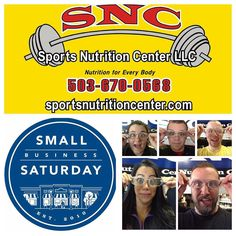 These are the faces of our small business. @sportsnutritioncenter We are active supporters of our community and would like to earn your patronage. Swing by today to say hi and check us out.  Why Focus on Small Business Saturday?  Small Business Saturday is nestled in between the major shopping days of Black Friday and Cyber Monday  so it makes sense people (and their wallets) may want to take a break. Plus its hard to believe local businesses can compete with deals from mega-sellers like…