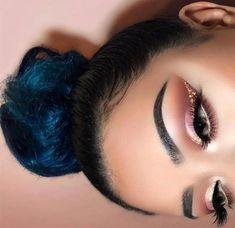 Pink and Gold Cut Crease   #cutcrease #makeup