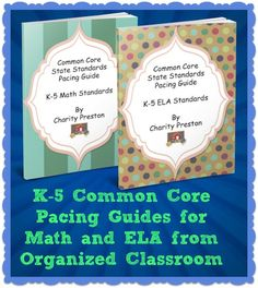 Win a set of K-5 CCSS Pacing Guides for ELA and Math!  Contest only runs for 24 hours and starts NOW!  Ends 4/14/13 at 11:59 pm.  Click on the pin to get entered!