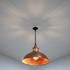 Mullan Berlin Vintage Copper Pendant Light