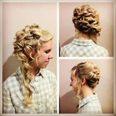 Hairstyles For Long Hair Debutante : for a debutante ball more hair ideas masquerade hairdos debutante ...
