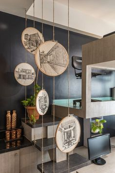 Sisodia designs has designed their office based on human senses - the architects diary Office Interior Design, Office Interiors, Interior Decorating, Office Wall Design, Design Offices, Office Art, Deco Restaurant, Restaurant Design, Indian Home Decor