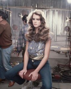 Young Brooke Shields. by lostinhistorypics