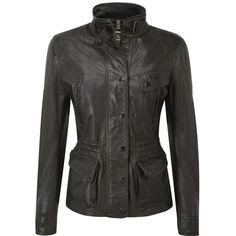 Black hills leather motorcycle jacket